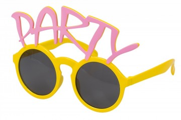 GLASSES PARTY YELLOW/PINK